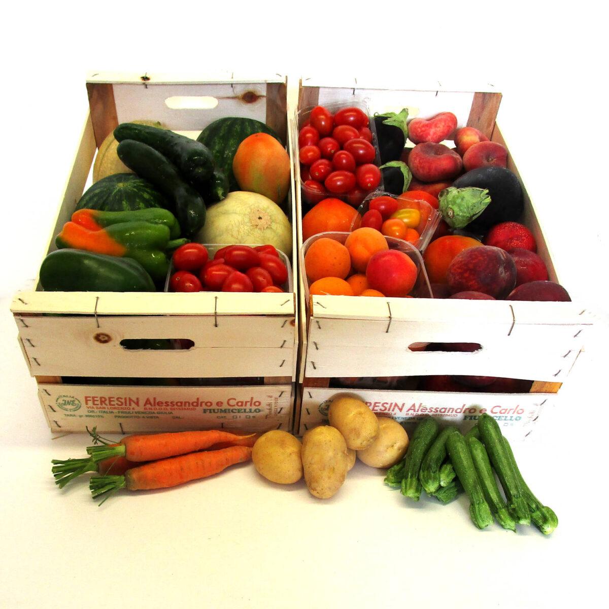 Box Mista Frutta Verdura Grande | Azienda Agricola Feresin